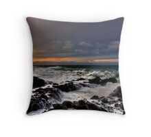 I Will Dream ~ Oregon Coast ~ Throw Pillow