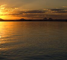 White Patch Sunset by Judy Harland
