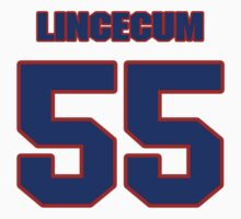 National baseball player Tim Lincecum jersey 55 by imsport