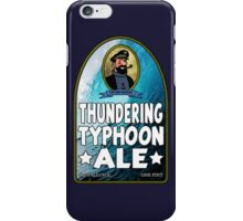 Haddock's Thundering Typhoon Ale iPhone Case/Skin