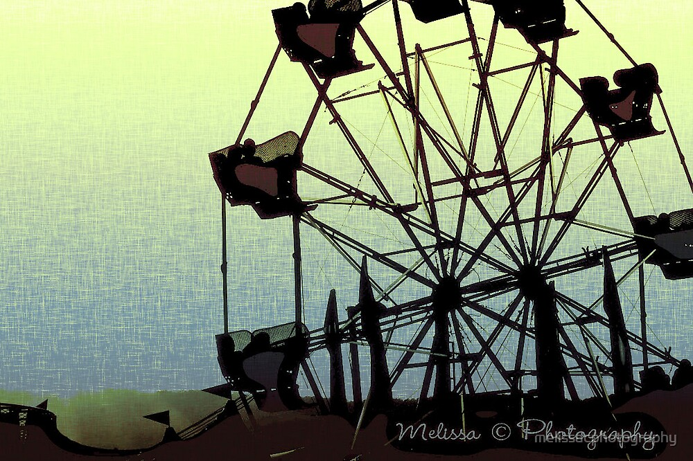 Abstract Ferris wheel  by melissacphotography