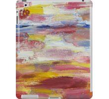Abstract Beach iPad Case/Skin