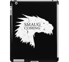 Smaug is coming iPad Case/Skin
