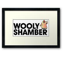 Wooly Shamber Framed Print