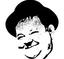 Oliver Hardy by Richard Rabassa