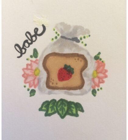 Strawberry Bread Sticker