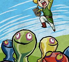 Link versus the ChuChus by TipsyKipsy