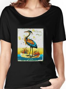 Blue Heron Gone Funky Women's Relaxed Fit T-Shirt