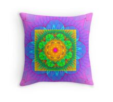 Acid Flashback Throw Pillow