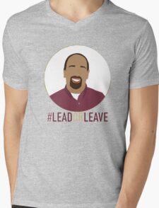 Ebe Randeree - #LeadorLeave Mens V-Neck T-Shirt