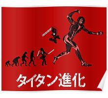 Titan Evolution Poster