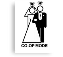 Co-Op Mode Canvas Print