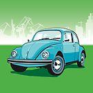 VW Beetle by Lara Allport