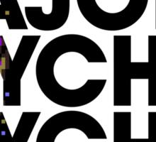 Major Psychic Psycho Sticker