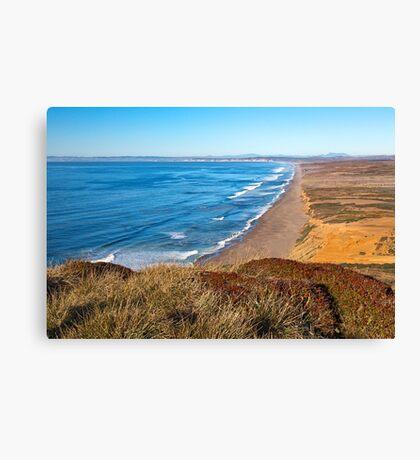Point Reyes Coastal Scenery Canvas Print
