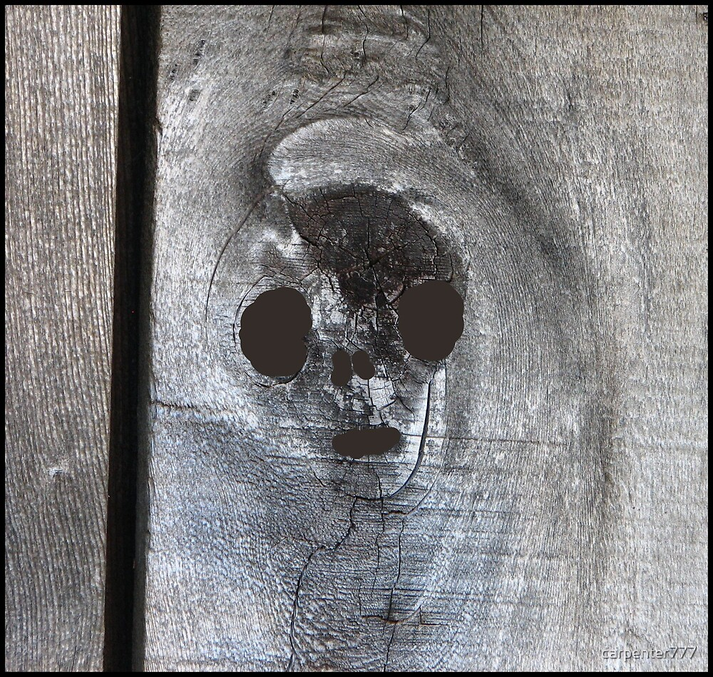 Wooden alien by carpenter777