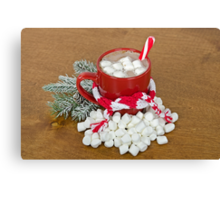 Christmas Hot Chocolate Canvas Print