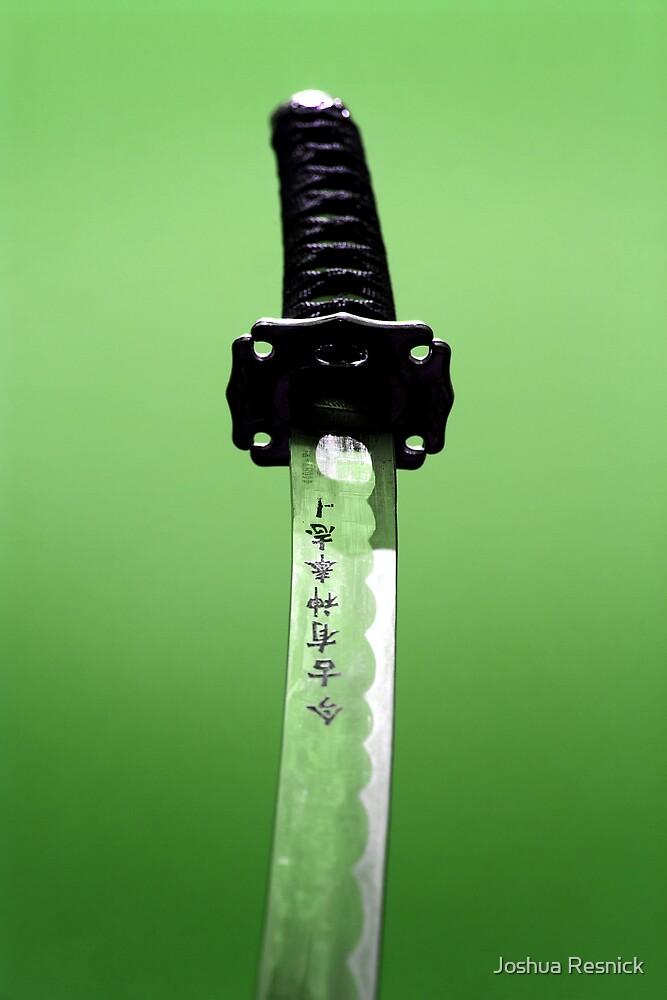 Emrald Blade by Joshua Resnick