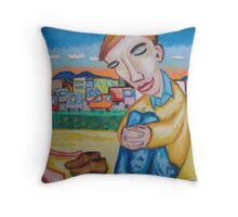 The Cool Off Throw Pillow