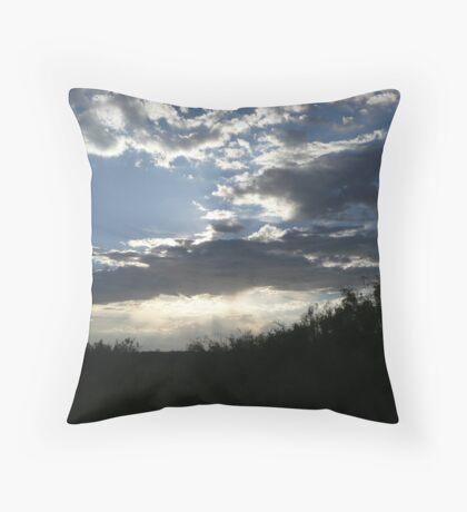 Cloud Show Throw Pillow