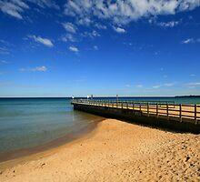 Winter Pier by Jodie Johnson