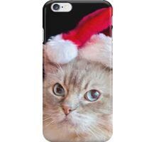 Christmas Ragdoll Cat iPhone Case/Skin