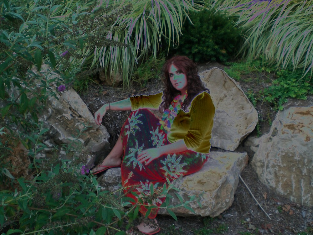 Luau Lady by Steven Slusher