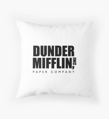 The Office - Dunder Mifflin, INC Throw Pillow