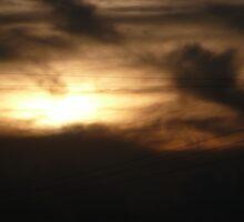 Smoky Sunset by Jennifer Mayo