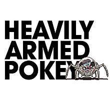 Heavily Armed Pokey Photographic Print