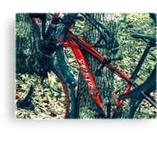 Bike by Wilderness  Canvas Print