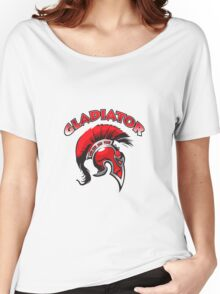 Spartan Helmet ,gladiator Women's Relaxed Fit T-Shirt