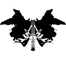 Rorschach Test Photographic Print