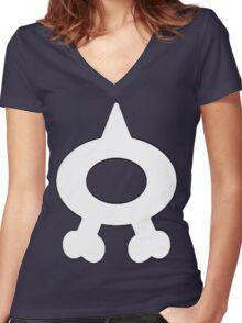 Team Aqua! Women's Fitted V-Neck T-Shirt