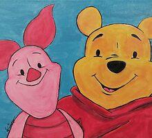Disney Winnie-the-Pooh Fan Art by Evan Wimperis