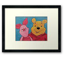 Disney Winnie-the-Pooh Fan Art Framed Print