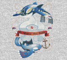 Team Aqua Crest  Baby Tee