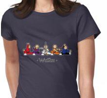 MiniFu: Wushu lineup Womens Fitted T-Shirt