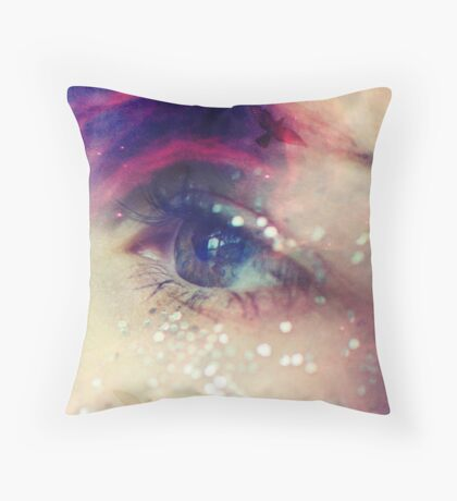 The Oracle - Magical Vision Throw Pillow