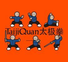 MiniFu: TaijiQuan (Chen) Kids Tee