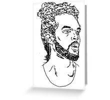 Joakim Noah Greeting Card