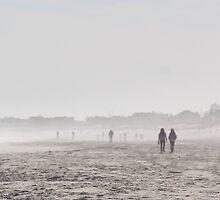 Morning Walk on the Beach by caleighfornia