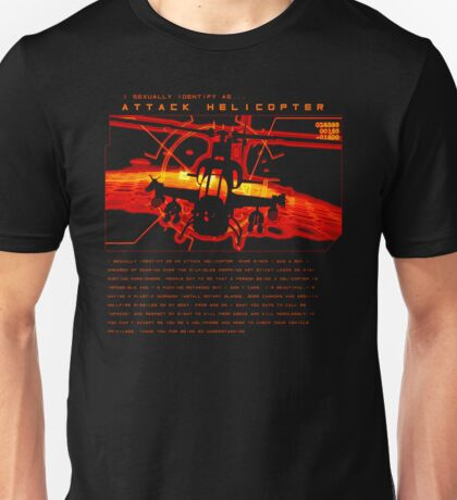 Attack Helicopter - T-Shirt Unisex T-Shirt