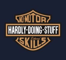 Hardly Doing Stuff No-Motor Skills by lilterra.com One Piece - Long Sleeve