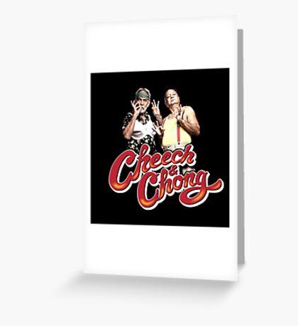 Cheech & Chong Greeting Card