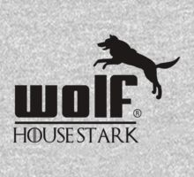 wolf - house stark puma logo parody by bakery