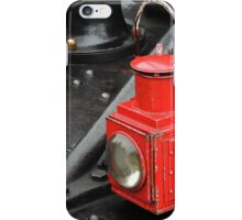 Steam Train Lamp iPhone Case/Skin