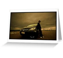 My Mitsubishi Colt Greeting Card