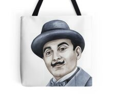 Hercules Poirot : Pointing the finger of blame 659 views Tote Bag