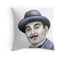 Hercules Poirot : Pointing the finger of blame 659 views Throw Pillow